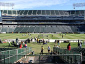 Oakland Raiders Seat View for Oakland Coliseum Section 117