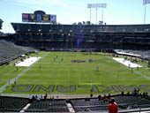 Oakland Raiders Seat View for Oakland Coliseum Section 229