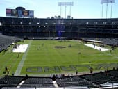 Oakland Raiders Seat View for RingCentral Coliseum Section 230