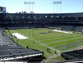 Oakland Raiders Seat View for RingCentral Coliseum Section 233