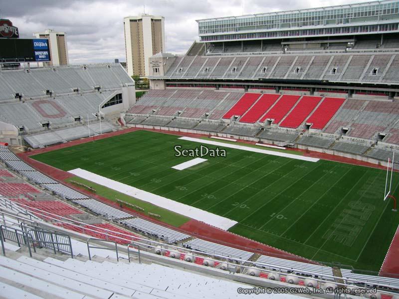 100 Ohio Stadium Seating Chart View 12 C Yasminroohi