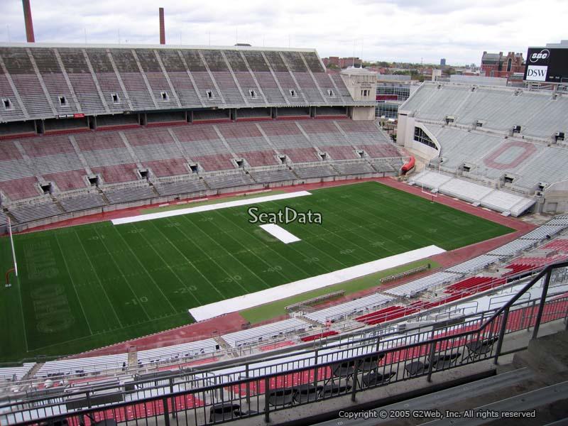 Ohio Stadium Section 15d Rateyourseats Com
