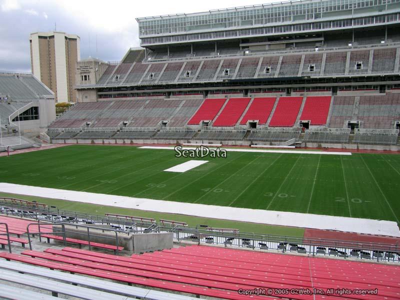 Ohio Stadium Section 18a Rateyourseats Com