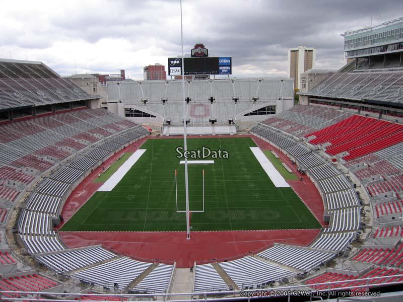 Ohio Stadium Section 1c Rateyourseats Com
