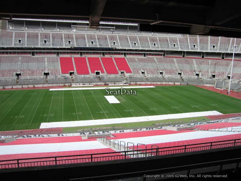 Ohio Stadium Section 22b Rateyourseats Com