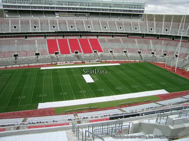 Ohio State Football Ohio Stadium Seating Chart