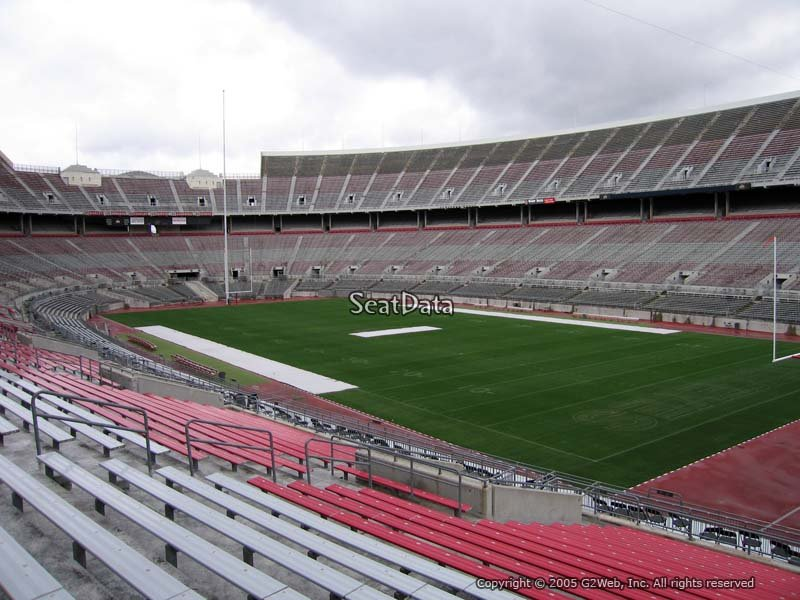 Ohio Stadium Section 29a Rateyourseats Com