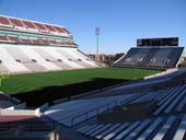 Seat View for Oklahoma Memorial Stadium Section 12