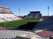 Seat View for Oklahoma Memorial Stadium Section 15