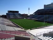 Seat View for Oklahoma Memorial Stadium Section 22