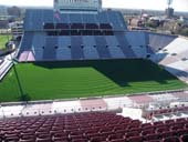 Seat View for Oklahoma Memorial Stadium Section 232