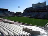 Seat View for Oklahoma Memorial Stadium Section 25