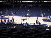 Seat View for Oracle Arena Section 128