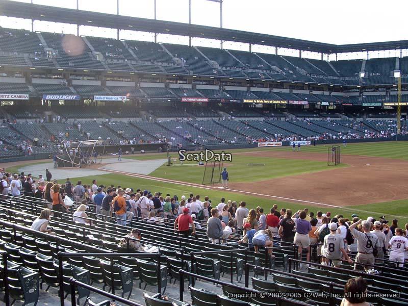 Oriole Park Section 12 Rateyourseats Com