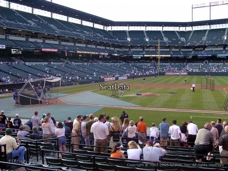 Oriole Park Section 20 Rateyourseats Com