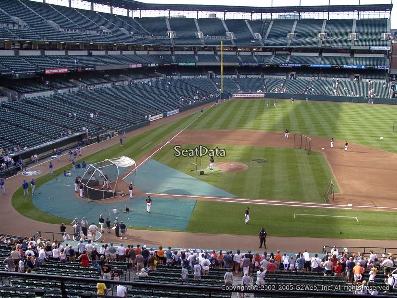 Oriole Park Section 222 Rateyourseats Com