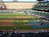 Seat View for Oriole Park Section 248