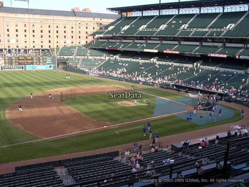Oriole Park Section 254 Rateyourseats Com
