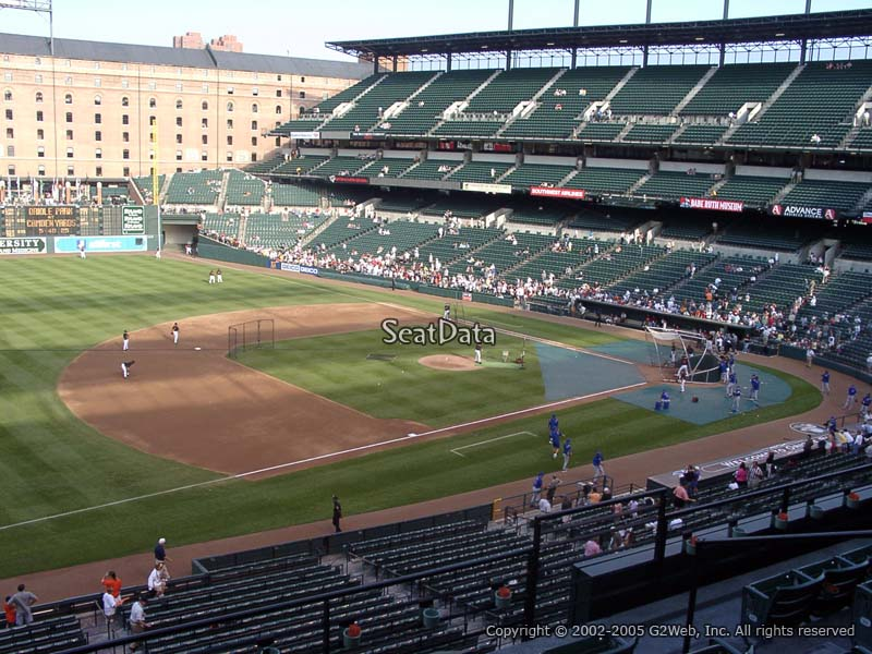 Oriole Park Section 256 Rateyourseats Com