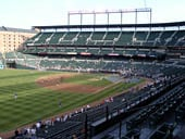 Seat View for Oriole Park Section 264