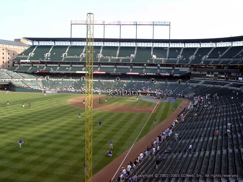 Oriole Park Section 272 Rateyourseats Com