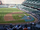 Seat View for Oriole Park Section 354
