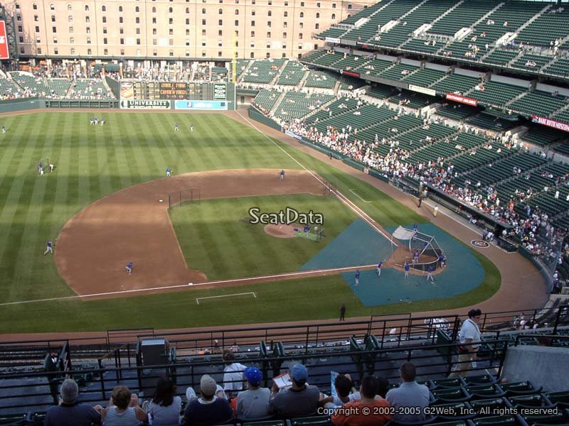 Oriole Park Section 354 Rateyourseats Com