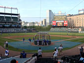 Seat View for Oriole Park Section 36