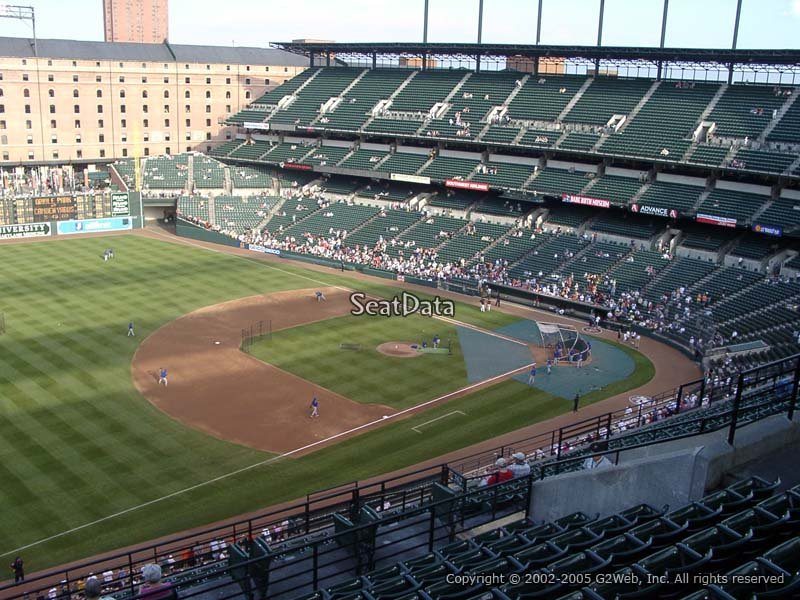 Oriole Park Section 362 Rateyourseats Com