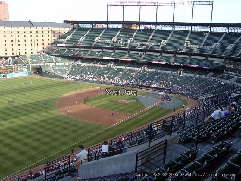 Oriole Park Section 366 Rateyourseats Com