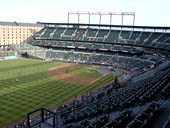 Seat View for Oriole Park Section 372