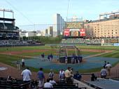 Seat View for Oriole Park Section 38