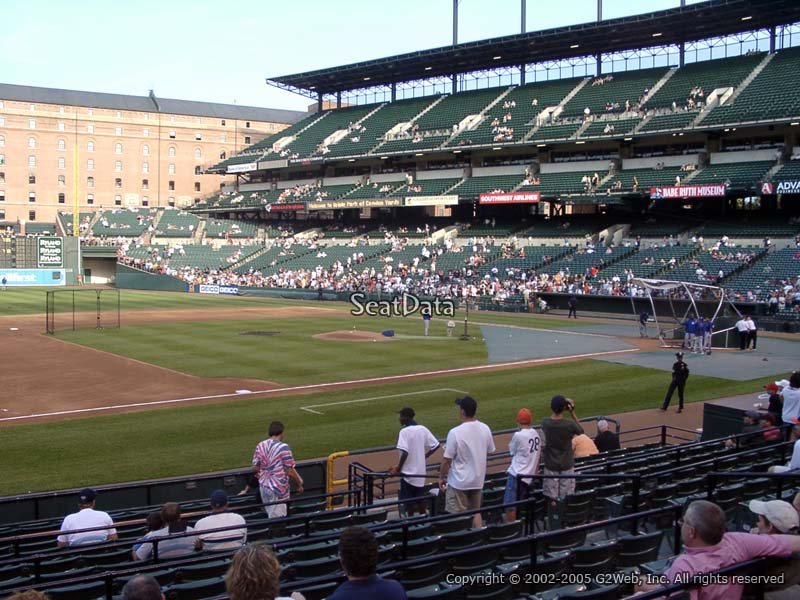 Oriole Park Section 56 Rateyourseats Com
