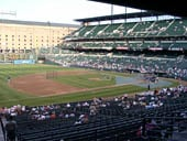 Seat View for Oriole Park Section 59