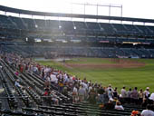 Seat View for Oriole Park Section 6