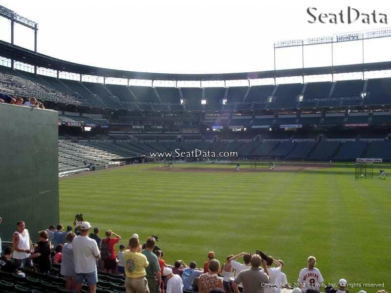 Bleachers Oriole Park Baseball Seating Rateyourseats Com