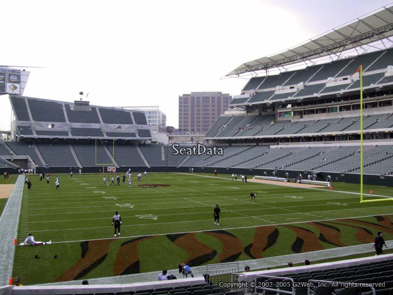 Paul Brown Stadium Section 158 Rateyourseats Com