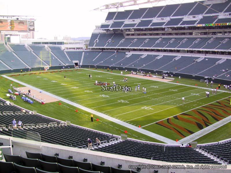 Paul Brown Stadium Section 232 Rateyourseats Com