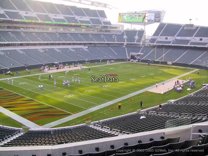 Paul Brown Stadium Section 248 Rateyourseats Com