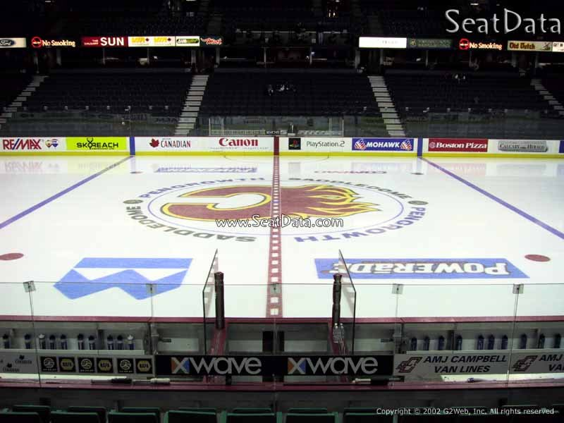 Scotiabank Saddledome Section 109 Seat View