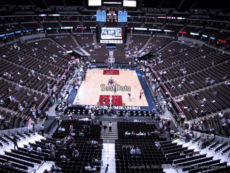 Land Rover Denver >> Pepsi Center Section 246 - Denver Nuggets - RateYourSeats.com
