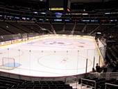 Hockey 110 seat view