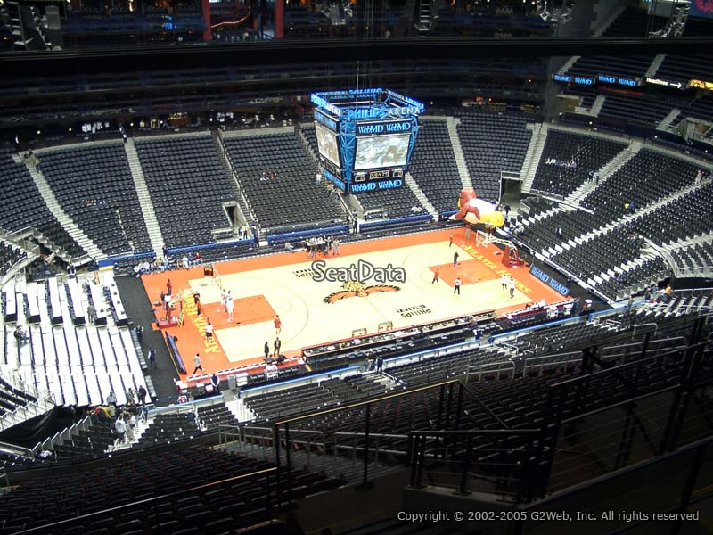 Philips Arena Section 413 Seat View