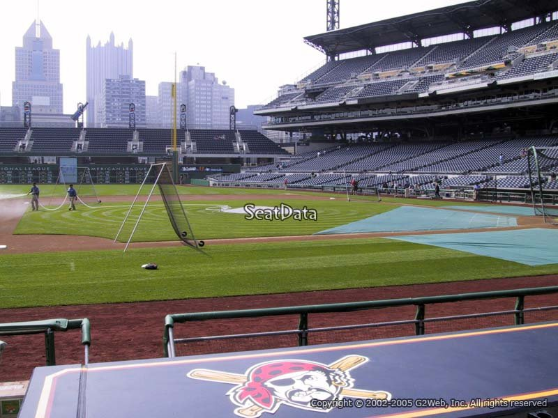 Seat View for PNC Park Section 23