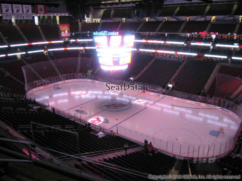 New Jersey Devils Seat View for Prudential Center Section 115