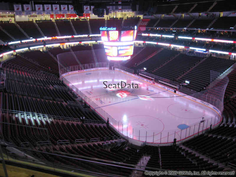 New Jersey Devils Seat View for Prudential Center Section 134