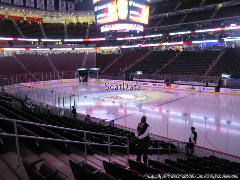 New Jersey Devils Seat View for Prudential Center Section 21