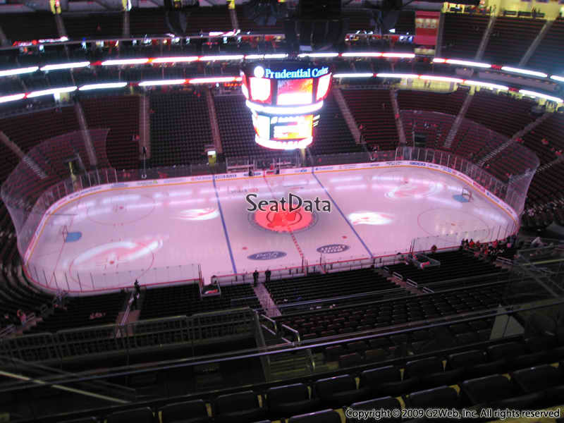 New Jersey Devils Seat View for Prudential Center Section 211