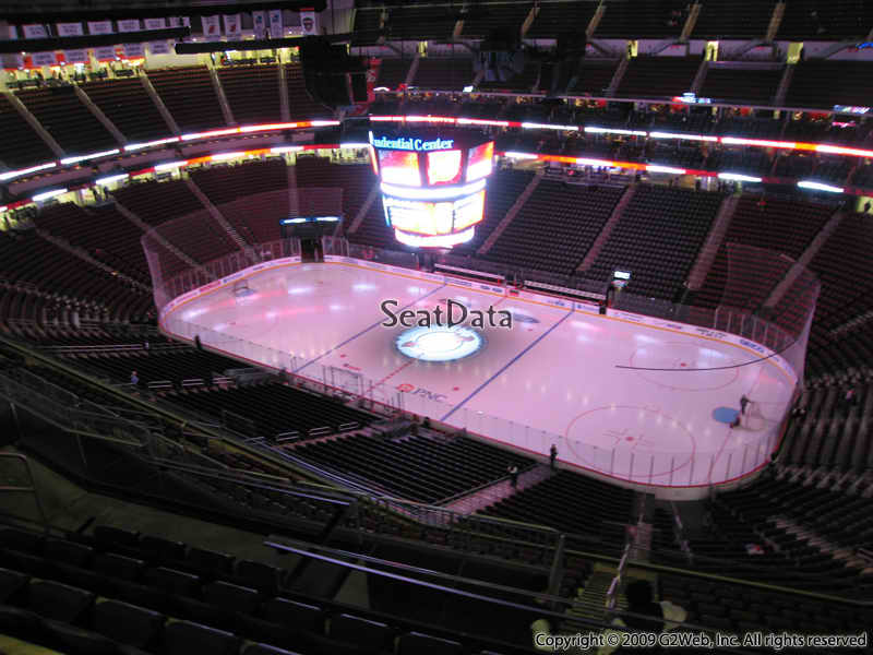 New Jersey Devils Seat View for Prudential Center Section 232