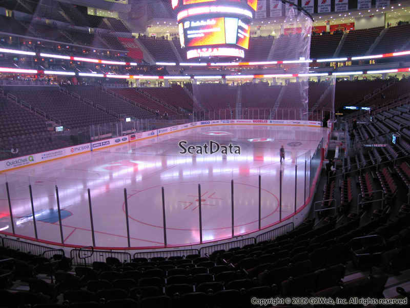 Prudential Center Section 4 View